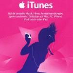 iTunes Geschenkkarte