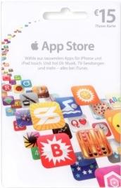 apple appstore karte