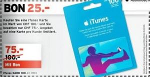 interdiscount itunes karte