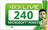 240 microsoft points