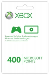 microsoft points 400 punkte