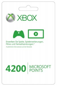 microsoft points 4200 punkte