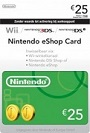 nintendo e-shop-card 25 euro