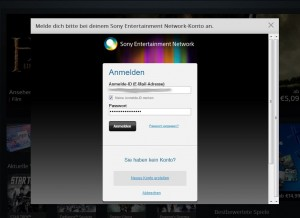 playstation store anmeldung