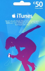 Apple iTunes Karte