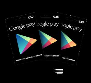 Google Play Guthaben