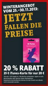 iTunes Karte Kaisers Angebot