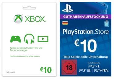 Psn Karte Kaufen.Amazon 10 Rabatt Auf Microsoft Live Playstation Network Karten