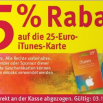 itunes angebot rossman november