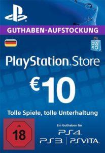 PSN-Guthaben-10€