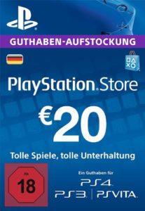 PSN-Guthaben-20€