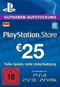 PSN-Guthaben-25€