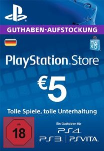 PSN-Guthaben-5€