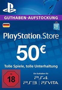 PSN-Guthaben-50€