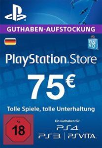 PSN-Guthaben-75€